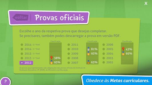 Provas Finais Português screenshot 7