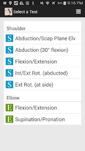 yROM Shoulder Elbow Goniometer screenshot 0