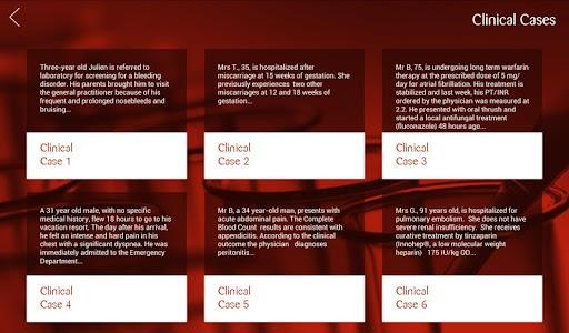 iHemostasis screenshot 12