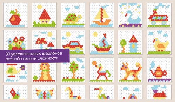 Картинки Из Мозаики Фото Для Детей