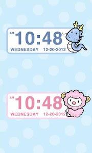 Zodiac sign Clock Widget screenshot 6