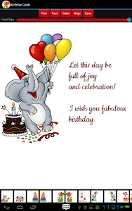 Birthday Cards screenshot 6