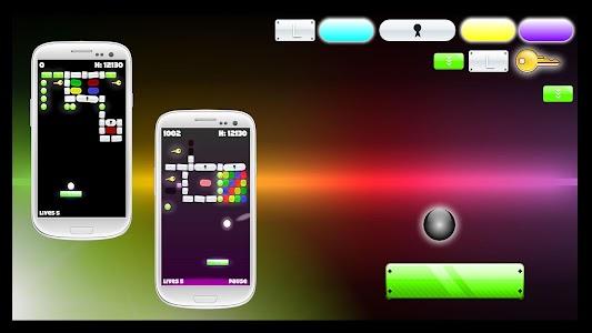 Bricks Break Glow screenshot 13