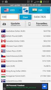 Currency Converter Live screenshot 0