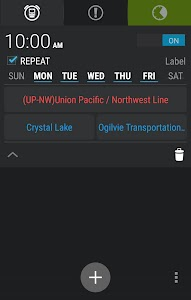 TrainAlert Metra Chicago screenshot 2