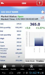 Gulf Bank Mobile Trader screenshot 19