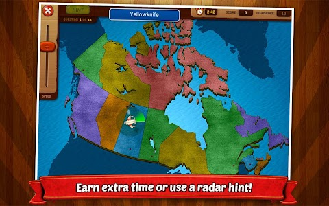 GeoFlight Canada: Geography screenshot 2