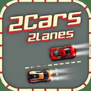 2 Cars 2 Lanes - Don't Crash!