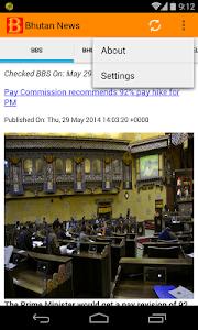 Bhutan News screenshot 1