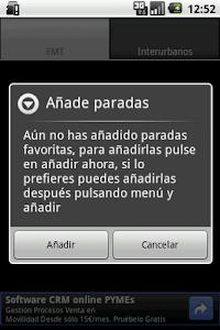 Madrid transportes screenshot 4