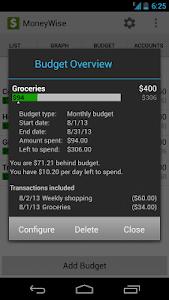 MoneyWise screenshot 5