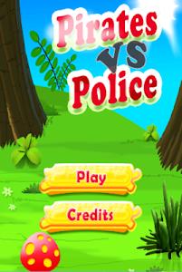Police Vs Pirates : Car Game screenshot 1