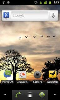 Sun Rise Free Live Wallpaper screenshot 01