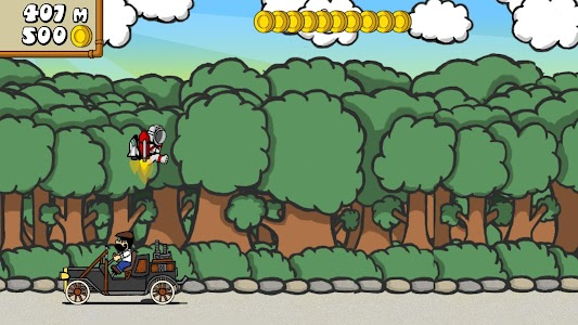 Dr. Gentleman's Jetpack Run screenshot 11