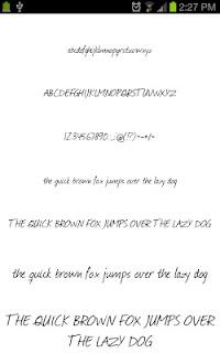 Neat Fonts for FlipFont free screenshot 01