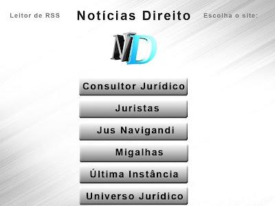 Notícias Direito screenshot 3