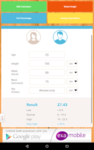 BMI Calculator: weight loss screenshot 13