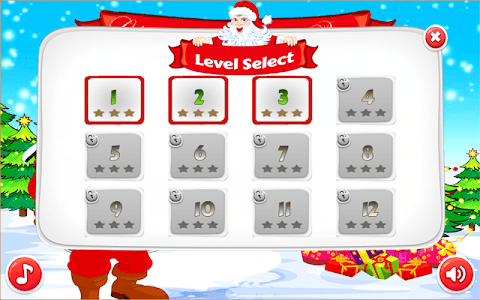 Christmas Santa Run screenshot 8