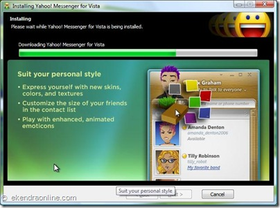 Yahoo Messenger for Vista