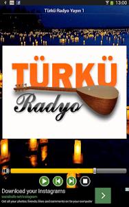 Türkü Radyo Resmi Uygulama screenshot 0