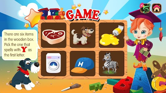 Pinocchio Teaching ABCs (Kids) screenshot 4