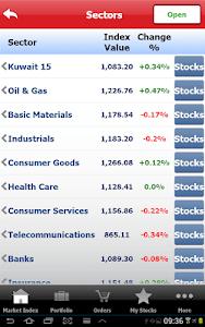 Gulf Bank Mobile Trader screenshot 15