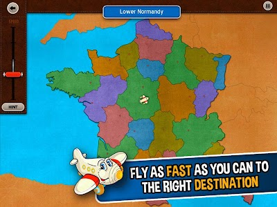 GeoFlight France: Geography screenshot 10