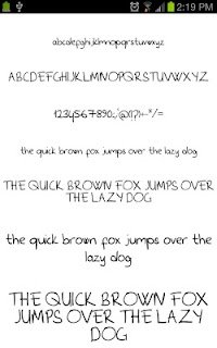 Marker Fonts for FlipFont free screenshot 04