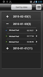Call Recorder screenshot 02