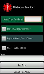 Diabetes Tracker Carb Ed. screenshot 4