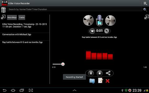 Killer Voice Recorder Pro screenshot 8