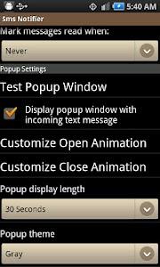 Sms Notifier screenshot 1