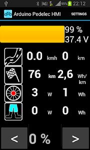 Arduino Pedelec HMI screenshot 0