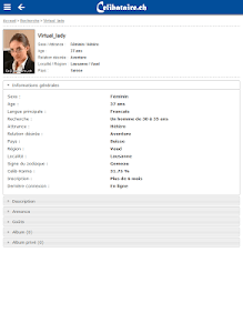 Rencontres Celibataire.ch screenshot 1