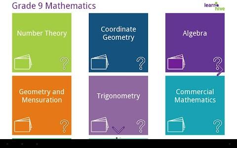 Grade 9 Math Learning Cards screenshot 6