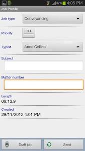 Winscribe Professional screenshot 1