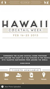 Hawaii Cocktail Week screenshot 0