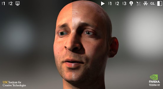 NVIDIA Tegra FaceWorks Demo screenshot 2