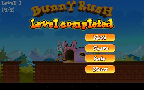Bunny Rush Run screenshot 22
