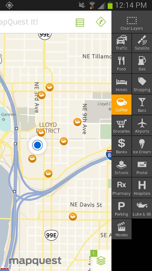 Status Showing Navigation App My Windshield