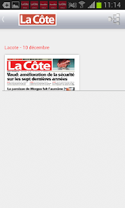 La Côte journal screenshot 3