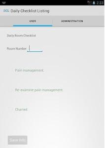 YPMM - Patient Room Checklist screenshot 3