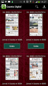 Gazeta Digital screenshot 0