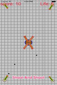 Crash Cannon Ball Shooting War screenshot 3