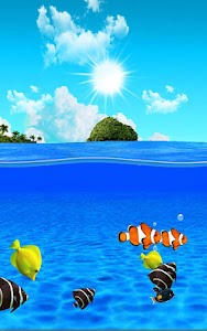 Aqua World HD Free wallpaper screenshot 9
