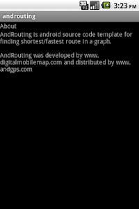 androuting screenshot 1