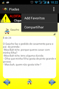 Piadas Brasileiras screenshot 3