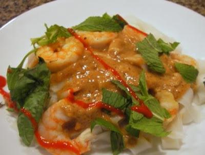 Deconstructed shrimp wraps