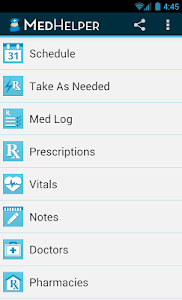 Med Helper Pill Reminder screenshot 0