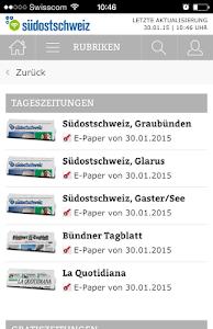 Südostschweiz (Phone) screenshot 2